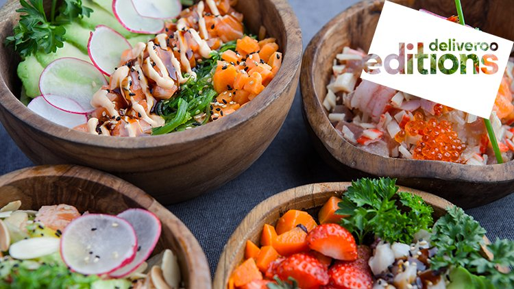 Deliveroo Editions: Poke Shop a Roma